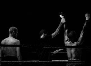 Winning wrestler